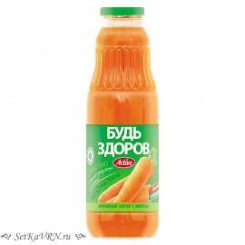 """""""Будь здоров"""" Морковный нектар с мякотью"""