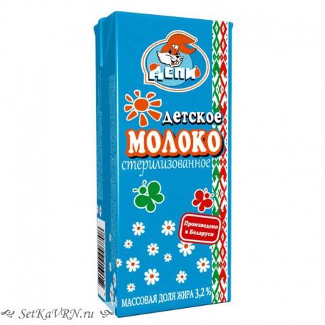 Молоко Детское 3,2%. Купить молоко для детей в Воронеже