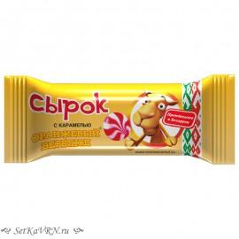 Сырок с карамелью Оранжевый верблюд. Купить белорусские глазированные сырки в Воронеже.