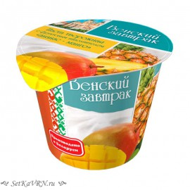 """Паста творожная """"ананас-манго"""""""