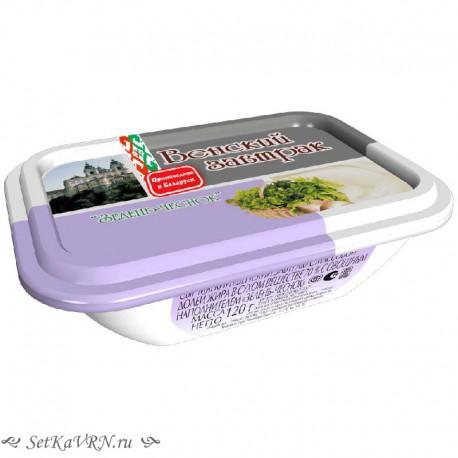 Сыр мягкий зелень-чеснок. Купить белорусские молочные продукты в Воронеже