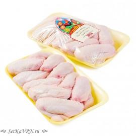 Крыло цыпленка-бройлера. Белорусская курица, мясо птицы в Воронеже.