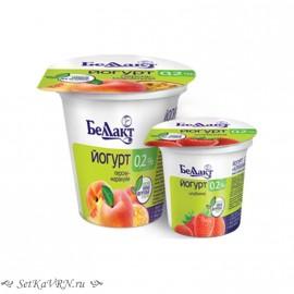 Йогурт с наполнителем 0,2%. Беллакт. Купить в Воронеже