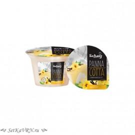 Десерт сливочный «Panna cotta» с ароматом ванили. Беллакт. Купить в Воронеже