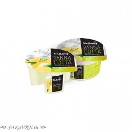 Десерт молочный «Panna cotta» с наполнителем лимон и лайм. Беллакт. Купить в Воронеже