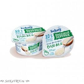 Каша молочная рисовая. Готовый завтрак Беллакт. Купить в Воронеже