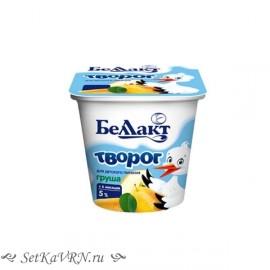 """Творог для детей раннего возраста """"Груша"""", 5,0%. Белорусские продукты для детей Воронеж"""