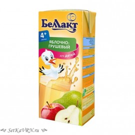 Сок яблочно-грушевый. Прикорм. Белорусские продукты Воронеж