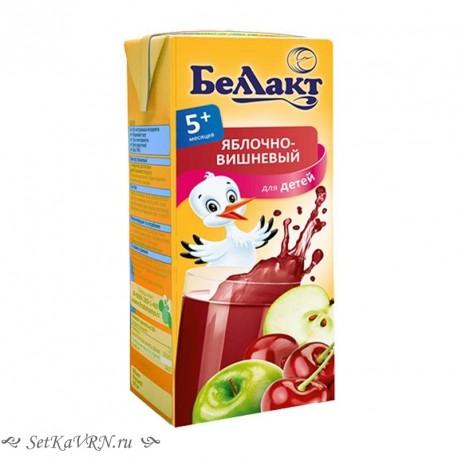Сок яблочно-вишневый. Прикорм. Белорусские продукты Воронеж
