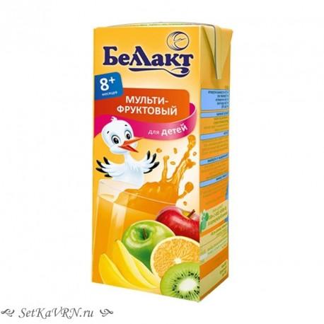 Сок мультифруктовый. Прикорм. Белорусские продукты Воронеж
