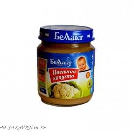 Овощное детское пюре. Цветная капуста. Прикорм. Белорусские продукты Воронеж