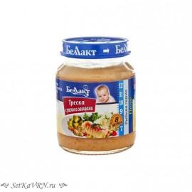 Детское пюре. Треска с рисом и овощами. Прикорм. Белорусские продукты Воронеж