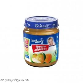 Фруктовое детское пюре. Груша - абрикос. Прикорм. Белорусские продукты Воронеж