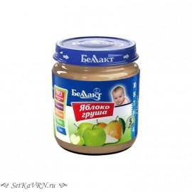 Фруктовое детское пюре. Яблоко - груша. Прикорм. Белорусские продукты Воронеж