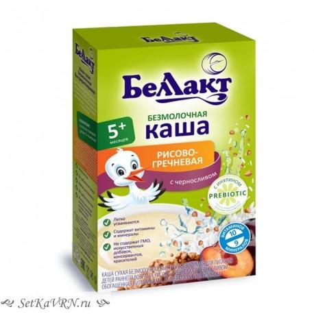 Каша безмолочная рисово - гречневая с черносливом, с инулином. Прикорм. Белорусские продукты Воронеж