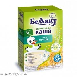 Каша безмолочная кукурузно - рисово - пшеничная с инулином. Прикорм. Белорусские продукты Воронеж