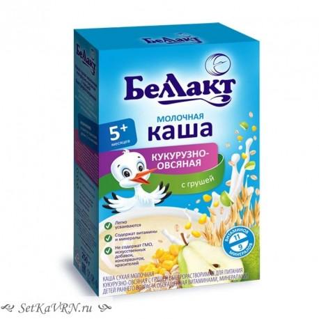 Каша молочная кукурузно - овсяная с грушей. Прикорм. Белорусские продукты Воронеж