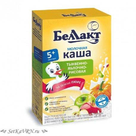 Каша молочная тыквенно - яблочно - морковно - рисовая. Прикорм. Белорусские продукты Воронеж