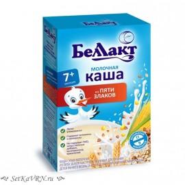 Каша молочная из пяти злаков. Прикорм. Белорусские продукты Воронеж
