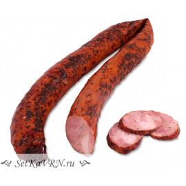 Свиная Домашка полукопченая колбаса