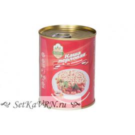 Каша перловая со свининой Калинковичи
