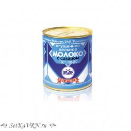 Молоко цельное сгущенное с сахаром, белорусская сгущенка