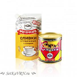 Cливки сгущенные с сахаром, белорусская сгущенка