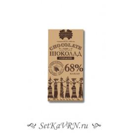 "Шоколад десертный ""Коммунарка"" горький 68%"