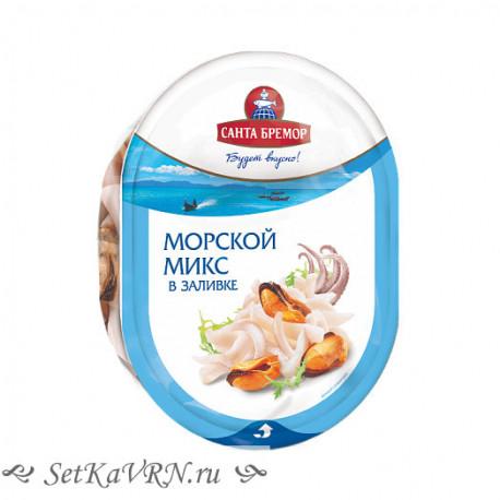 """Коктейль из морепродуктов в заливке """"Морской микс"""""""