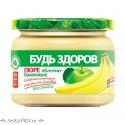 """Пюре яблочно-банановое """"Будь Здоров"""""""